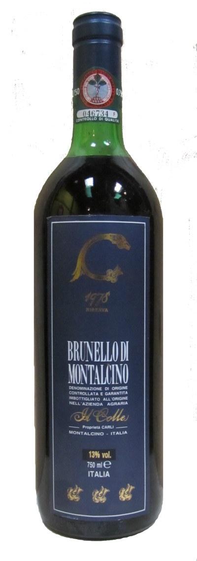 1978 Brunello di Montalcino Riserva